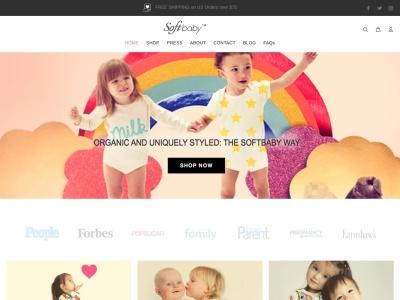 Screenshot of soft-baby-clothes.com