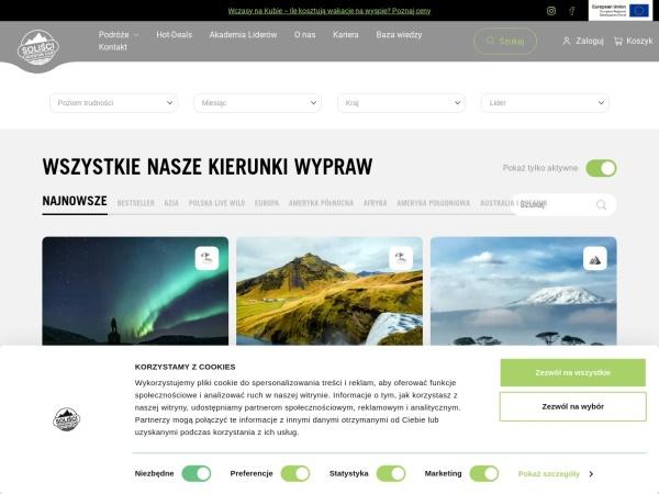 Screenshot of solisci.pl