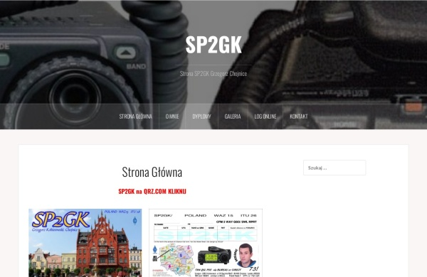 Screenshot of sp2gk.pzk.pl