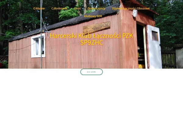 Screenshot of sp9zhc.pzk.pl