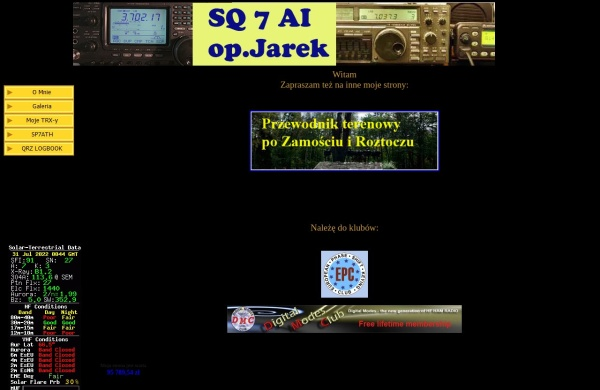 Screenshot of sq7ai.pzk.pl