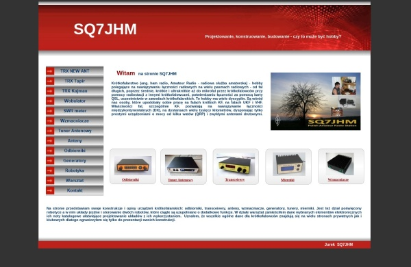 Screenshot of sq7jhm.pzk.pl