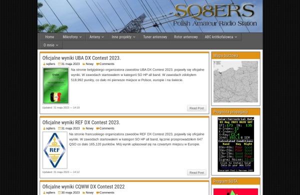 Screenshot of sq8ers.pzk.pl