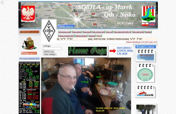 Screenshot of sq8jla.pzk.pl