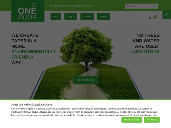 Screenshot of stonebook.ro