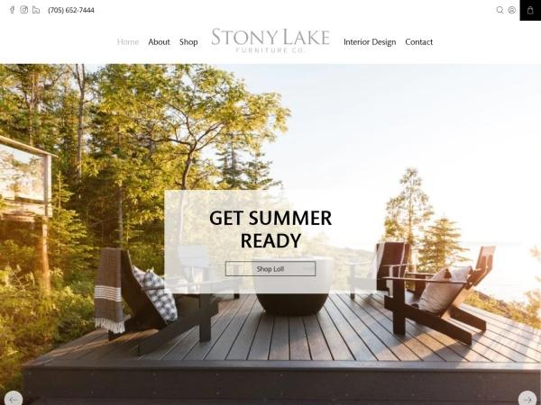 Screenshot of stonylakefurniture.ca