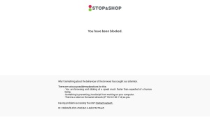 Screenshot of stopandshop.com