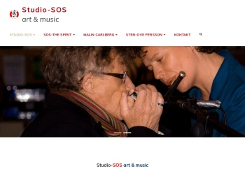 Screenshot of studio-sos.se