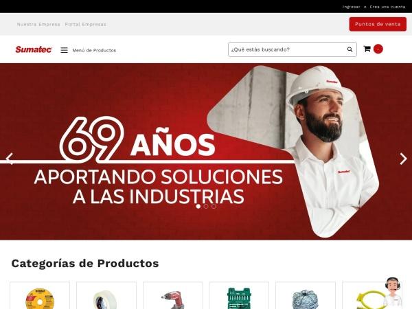 Captura de pantalla de sumatec.co