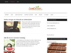 Sunndessert - content marketing