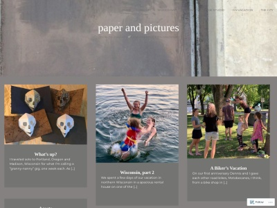 Paper and Pictures Screenshot