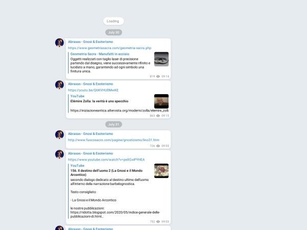 Screenshot of t.me