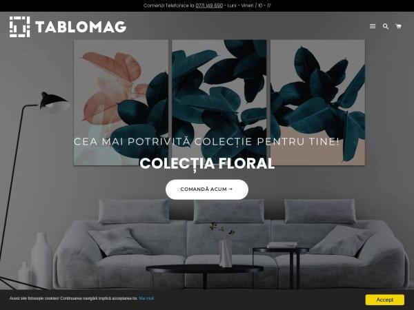 Screenshot of tablomag.ro