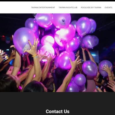 Screenshot of taipan-entertainment.com