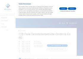 Screenshot of tankstelle.aral.de