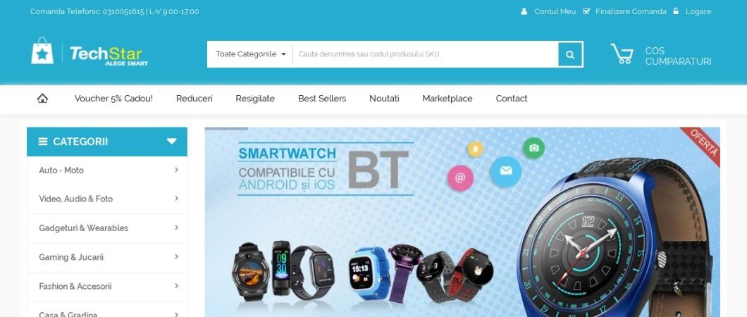 Screenshot of techstar.ro