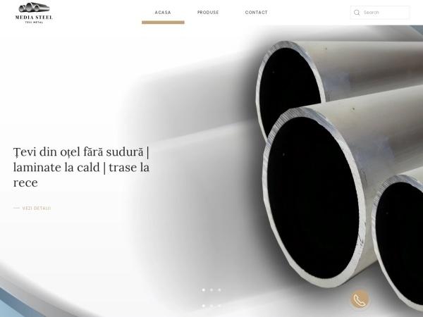 Screenshot of tevi-metal.ro