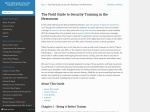 https://the-field-guide-to-security-training-in-the-newsroom.readthedocs.io/en/latest/