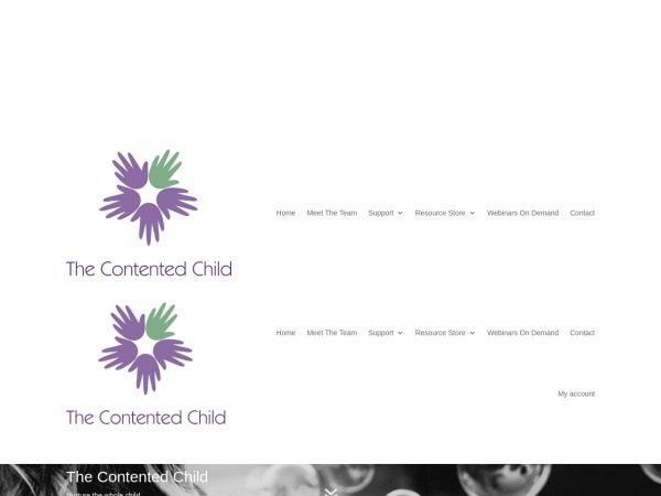 Screenshot of thecontentedchild.co.uk