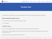 https://themeisle.com/themes/parallax-one/