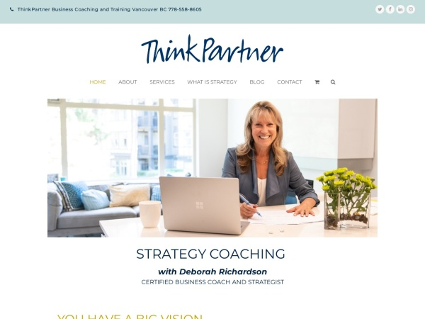 Screenshot of thinkpartner.ca