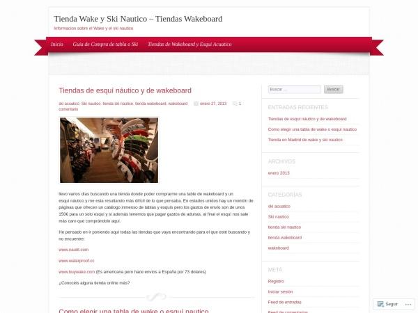 Captura de pantalla de tiendawakeyskinautico.wordpress.com
