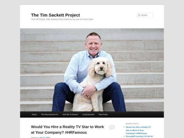 The Tim Sackett Project Screenshot