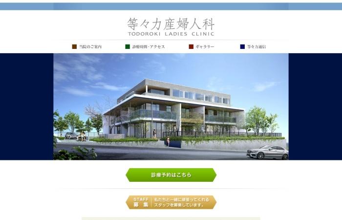 Screenshot of todoroki-7.jp