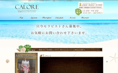 Screenshot of tokyo-calore.com