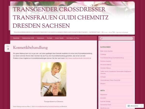 Screenshot von transgenderservice.wordpress.com