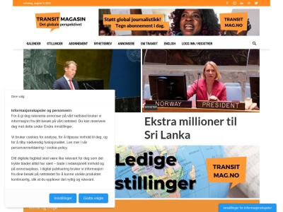 Transit magasin Screenshot