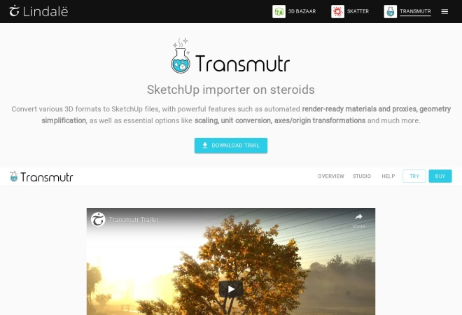 Screenshot of transmutr.com