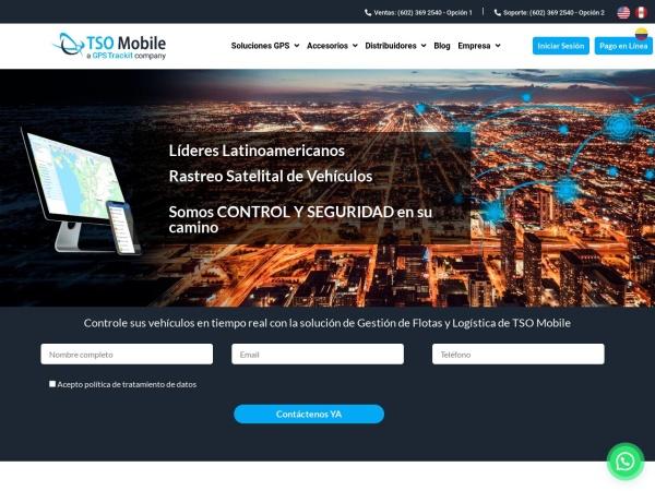 Captura de pantalla de tsomobile.com.co