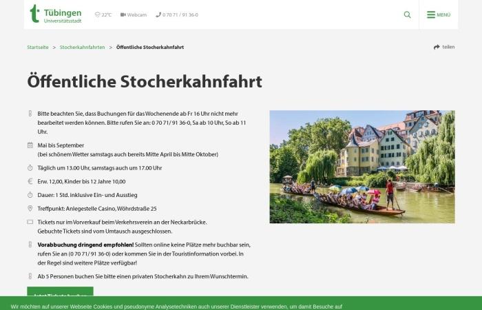 Screenshot von tuebingen-info.de