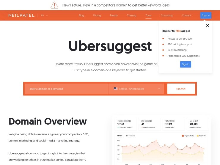 https://ubersuggest.io/