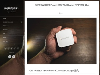 RAV POWER PD Pioneer 61W Wall Charger RP-PC112 購入