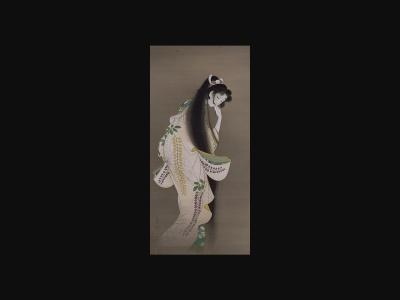 上村松園『焔』|Wikipedia