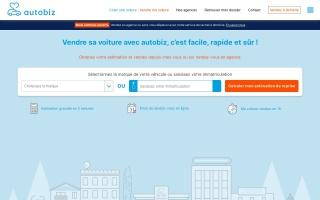 Screenshot of vendre.autobiz.fr