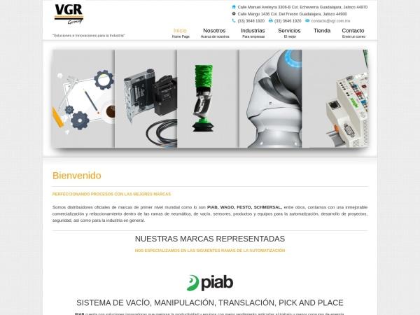 Captura de pantalla de vgr.com.mx