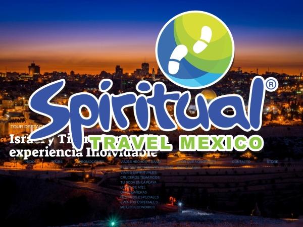 Captura de pantalla de viajesaisrael.com.mx
