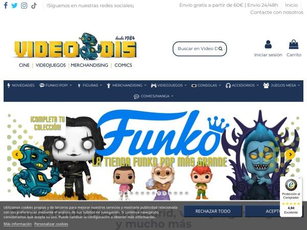 Captura de pantalla de videodis.es