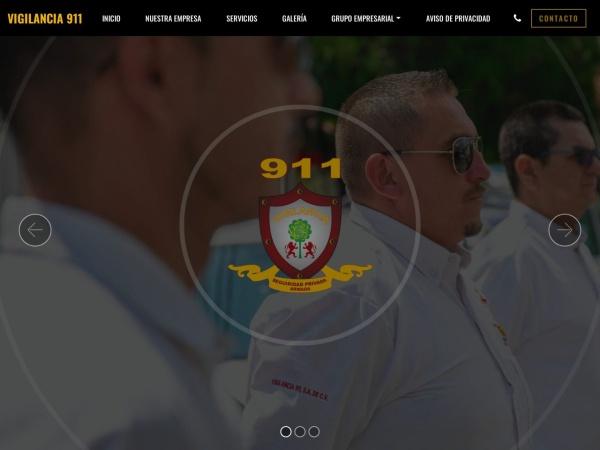 Captura de pantalla de vigilancia911.com.mx