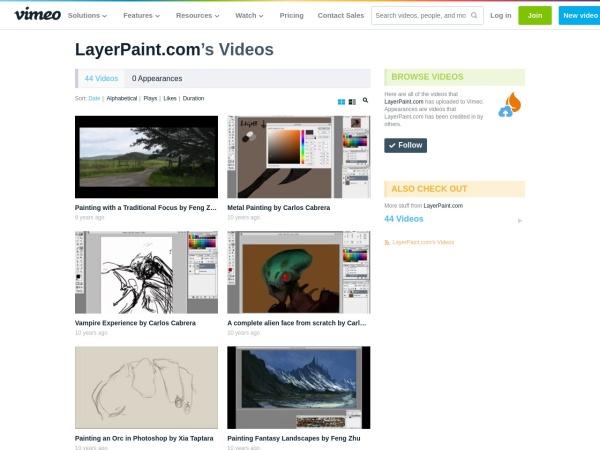 https://vimeo.com/layerpaint/videos