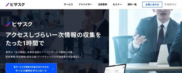 Screenshot of visasq.co.jp