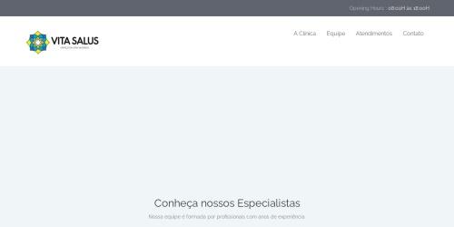 Screenshot of vitasalus.com.br