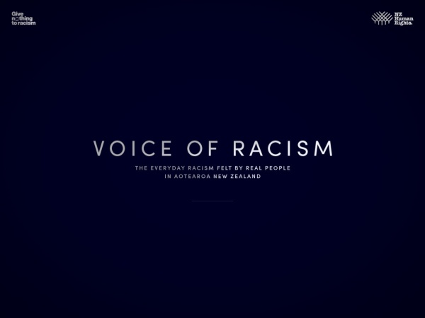 Screenshot of voiceofracism.co.nz