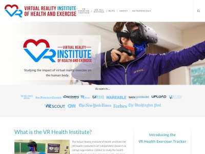 Screenshot of vrhealth.institute
