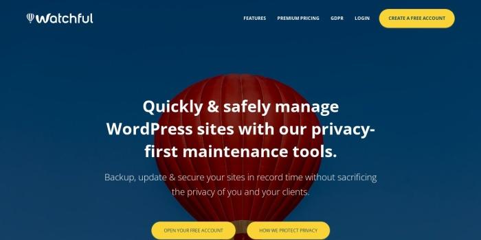 Screenshot of watchful.net