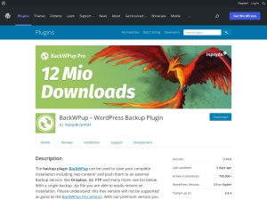 https://wordpress.org/plugins/backwpup/