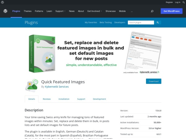 https://wordpress.org/plugins/quick-featured-images/